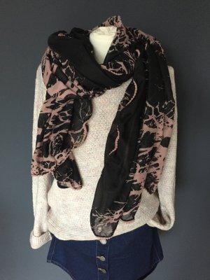 Schal Vero Moda Tuch Schwarz Rose