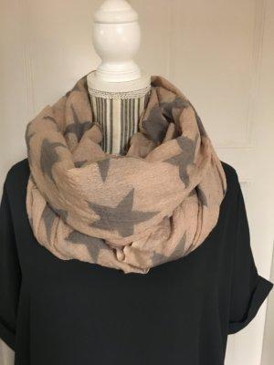 Becksöndergaard Wollen sjaal stoffig roze-grijs