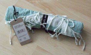 Codello Summer Scarf petrol-mint cotton