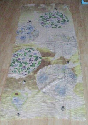 Codello Écharpe d'été blanc cassé-jaune polyester