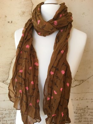 Codello Scarf russet-pink