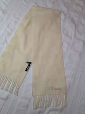 DKNY Knitted Scarf cream-light pink