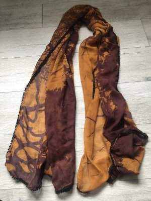 Esprit Foulard bordeau-brun sable