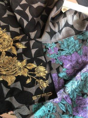 Etro Bufanda de lana multicolor