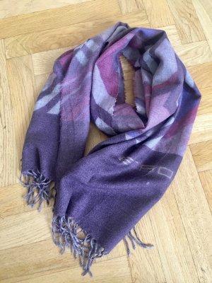 Etro Bufanda de lana multicolor Lana