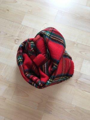 Furla Bufanda de lana rojo-rojo ladrillo Lana