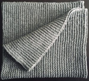 H&M Snood grey mixture fibre