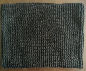 H&M Snood black mixture fibre