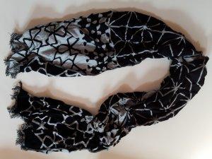 Schal von H&M in Schwarz-Grau