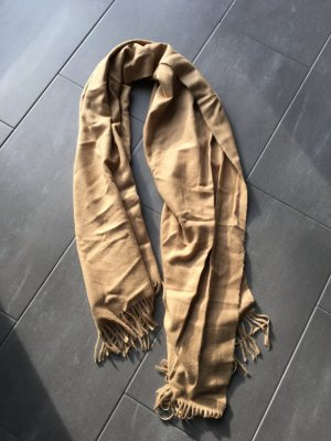 Schal von Mango beige braun