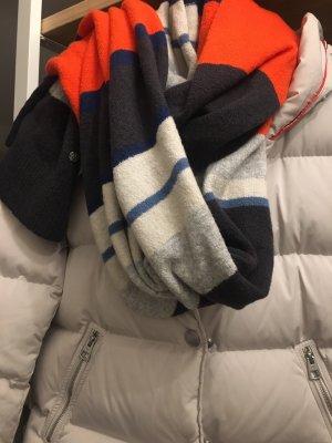 Marc O'Polo Sciarpa lavorata a maglia multicolore Cotone