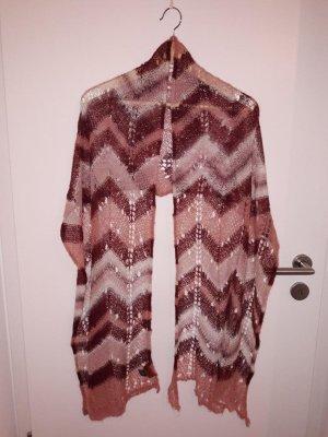 Missoni Gebreide sjaal veelkleurig Gemengd weefsel