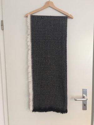 Primark Gebreide sjaal zwart-wit