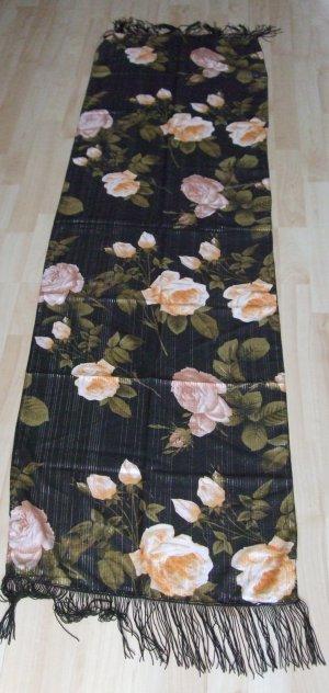 Schal von Sisters Point - Glanzfäden - Blumenprint