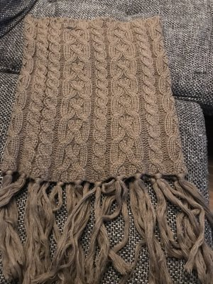 Tom Tailor Écharpe en crochet marron clair