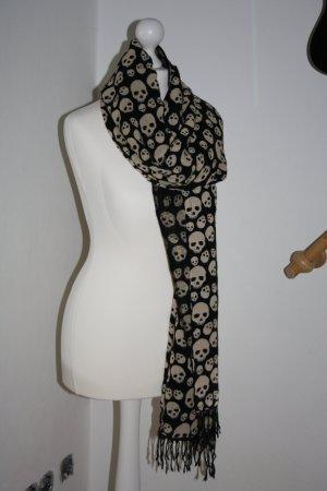 Topshop Sciarpa nero-beige chiaro
