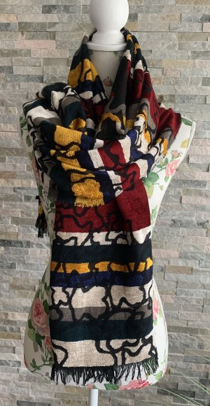 Tous Woolen Scarf multicolored