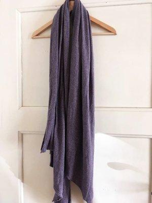 Schal von Zara in grau-lila
