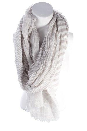 Schal weiß-grau Mustermix