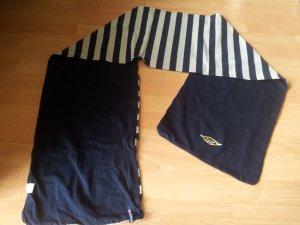 Schal Wendeschal Streifen dunkelblau grau Brands