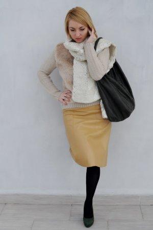 schal winter H&M gold ecru neu xxl