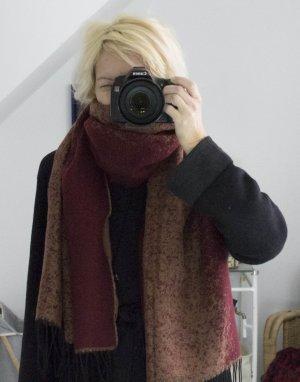 Schal Winterschal Tuch groß, Ombre - Look, warm, 68 x 190 cm, NEU