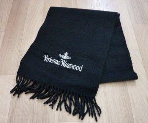 Schal Winterschal Vivienne Westwood Stola schwarz