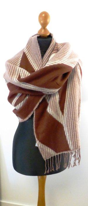 Even & Odd Sciarpa di lana multicolore