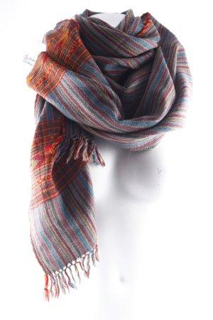 Sciarpa di lana multicolore Lana