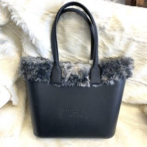Marc Cain Shopper anthracite-black synthetic