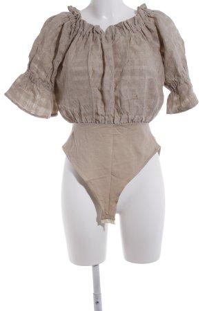 Schampus München Blusen-Body beige Casual-Look