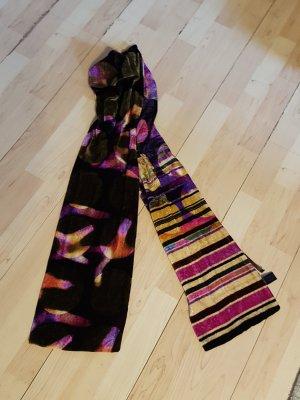 Francesco Biasia Zijden sjaal veelkleurig