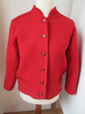Veste bavaroise rouge-rouge clair