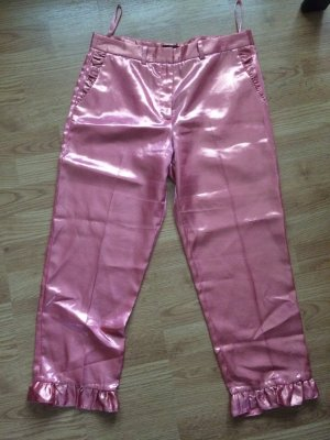 River Island Pantalone peg-top color oro rosa