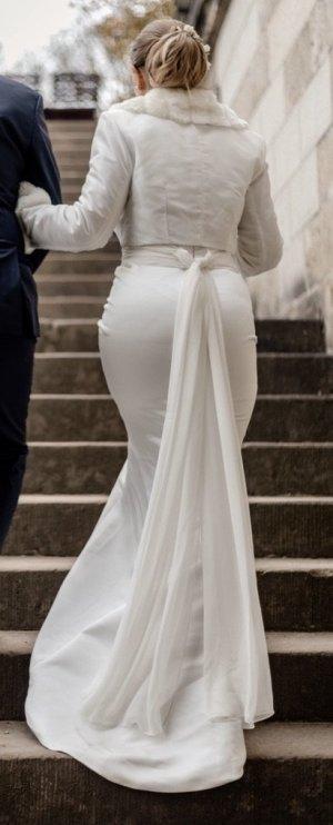 Joop! Wedding Dress white