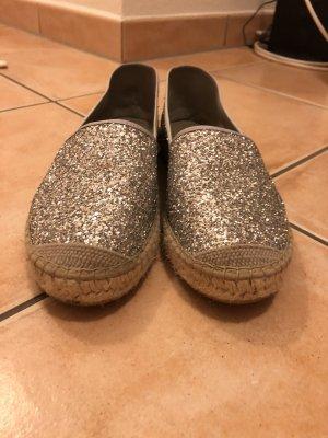 Vidorreta Espadrille Sandals silver-colored