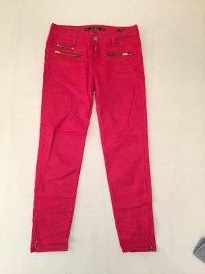 schicke 3/4-Hose, Rot von Zara