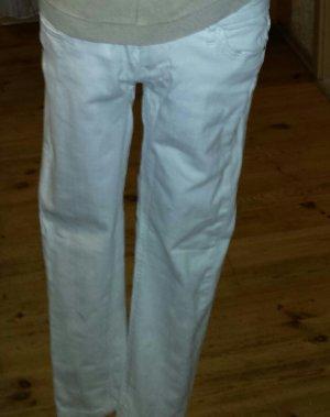 Schicke 7/8 Jeans in weiß