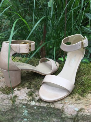 Betty Barclay Strapped High-Heeled Sandals gold-colored-nude