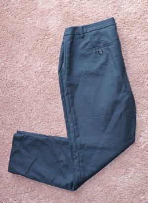 Schicke Anzughose in dunkelblau