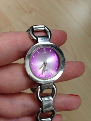 Schicke Armbanduhr - Gliederarmband - Esprit - mit neuer Batterie!
