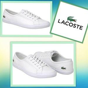 Schicke bequeme -Lacoste - Sneaker Gr .40,5