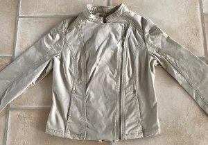 Schicke Bikerjacke Orsay Gr. M 38 - 40 beige