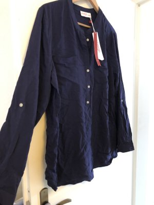 Anna Scholz for Sheego Long Sleeve Blouse dark blue