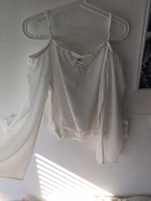 Amisu Oversized Blouse white-natural white