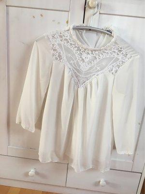Vero Moda Lace Blouse white