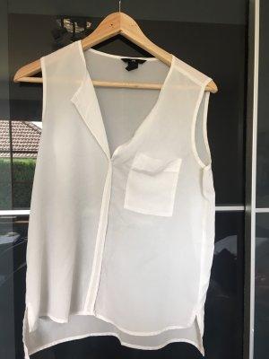 H&M Camisa de mujer blanco