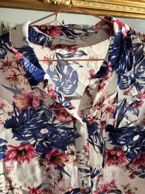 Schicke Bluse gemustert 40