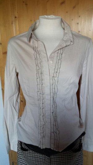 Schicke Bluse in beige/braun
