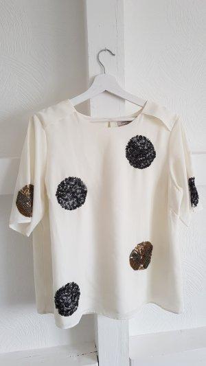 Schicke Bluse mit Pailettenverzierung